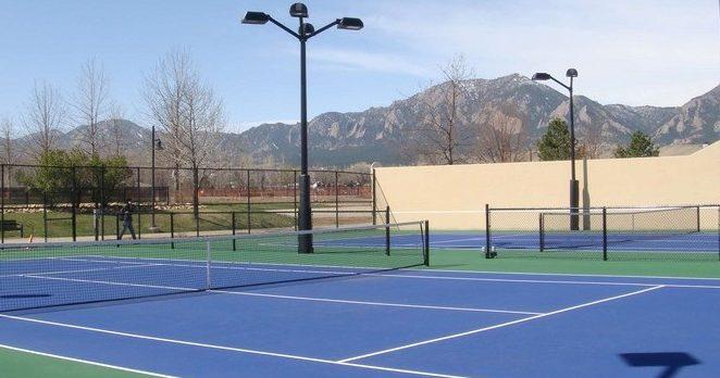 Photo of East Boulder Community Center tennis courts